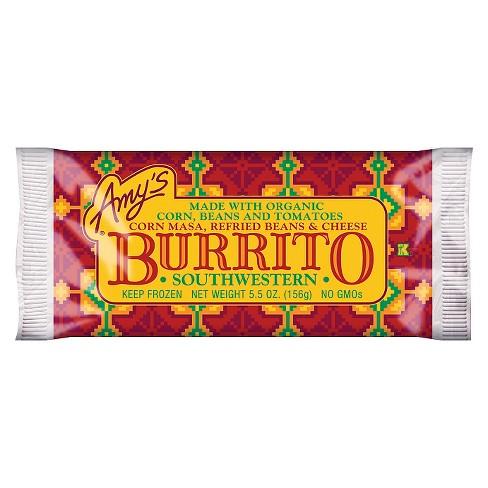 Amy's Frozen Southwestern Burrito - 5.5oz - image 1 of 4