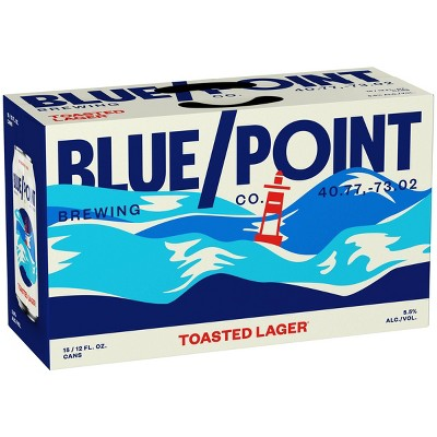 Blue Point Toasted Lager Beer - 15pk/12 fl oz Cans