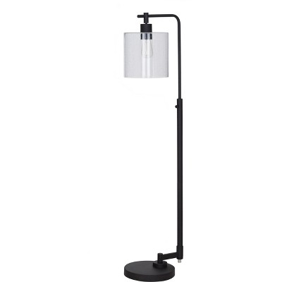 Hudson Industrial Floor Lamp Black Includes Energy Efficient Light Bulb - Threshold™