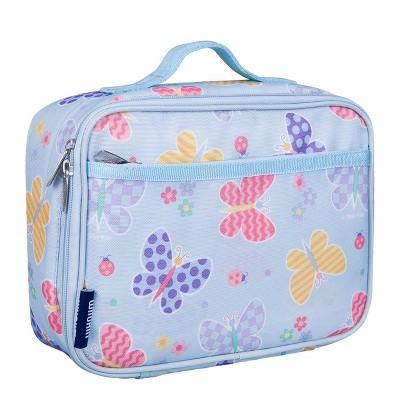 Butterfly Garden Blue Lunch Box