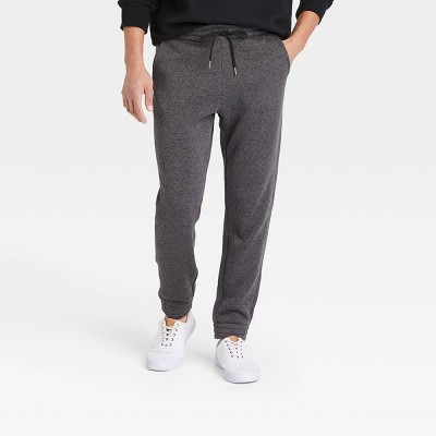 Men's Sweater Fleece Tapered Jogger Pants - Goodfellow & Co™