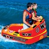 Wow Bingo 2 Inflatable 2 Person Seating Ride Cockpit Towable Water Sports Tube - image 4 of 4