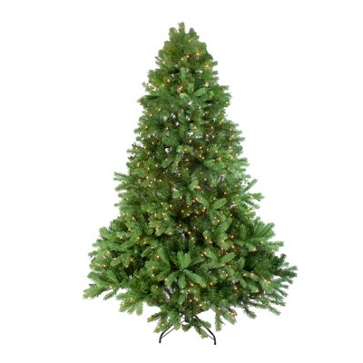 Northlight 6.5' Prelit Artificial Christmas Tree Noble Fir - Clear Lights