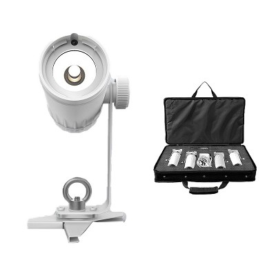 Chauvet DJ EZ Pin 4 Pack Battery Powered LED Spot Stage Lighting Unit, White