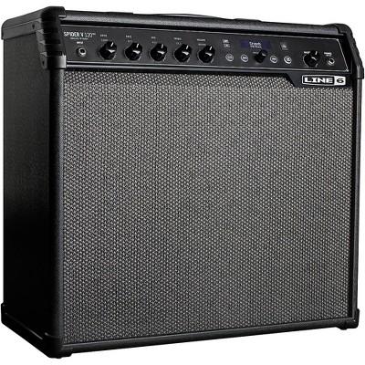 Line 6 Spider V 120 MKII 120W 1x12 Guitar Combo Amp Black