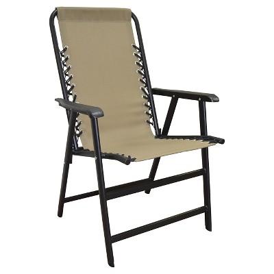 Caravan Global Suspension Folding Chair - Beige