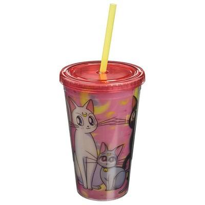 "Just Funky Sailor Moon ""Kitties"" Lenticular 16oz Carnival Cup"