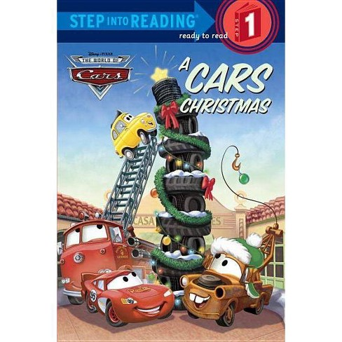A Cars Christmas - (Step Into Reading: A Step 1 Book) by  Melissa Lagonegro (Hardcover) - image 1 of 1