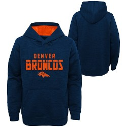 NFL Denver Broncos Boys' Double Knit Hoodie
