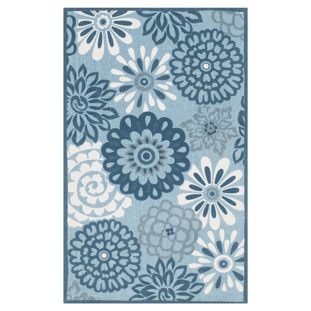 Norabel Accent Rug - Blue/Multi (2'3
