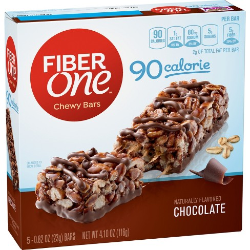 Fiber One Chocolate Chewy Bars 90 Calorie - 5ct - image 1 of 1