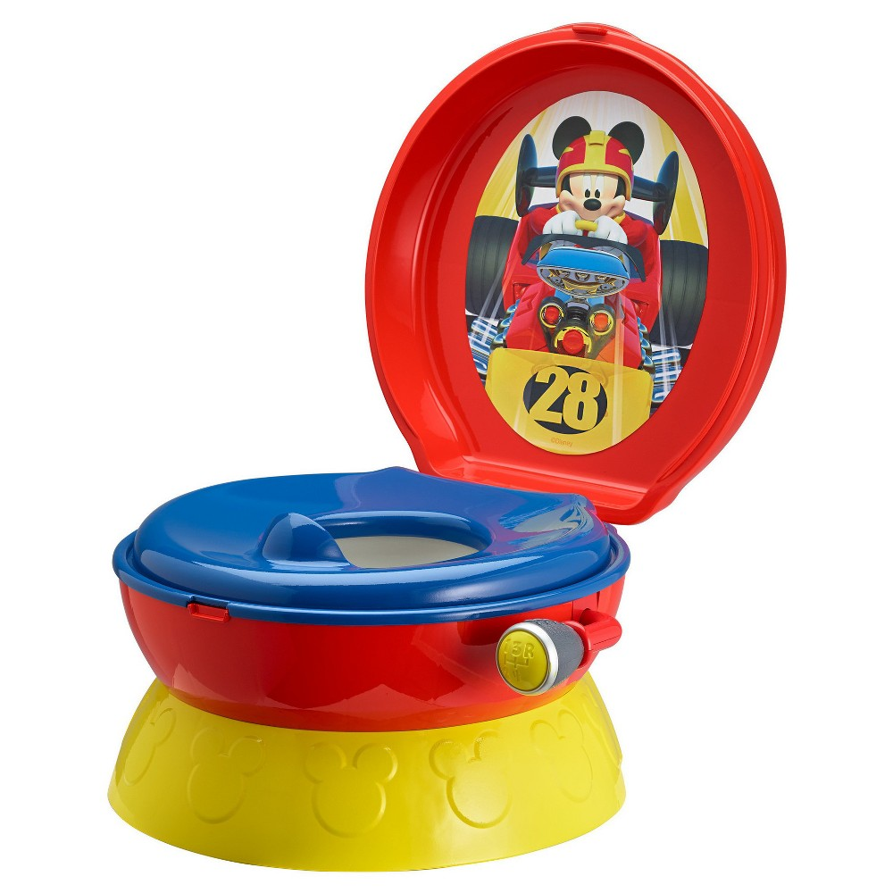 The First Years Mickey Mouse 3-in-1 Potty System, Red/Yellow/Blue