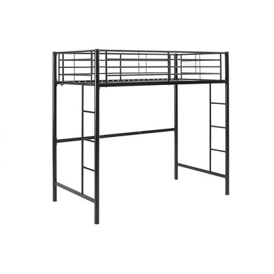 Twin Premium Metal Loft Bed - Saracina Home