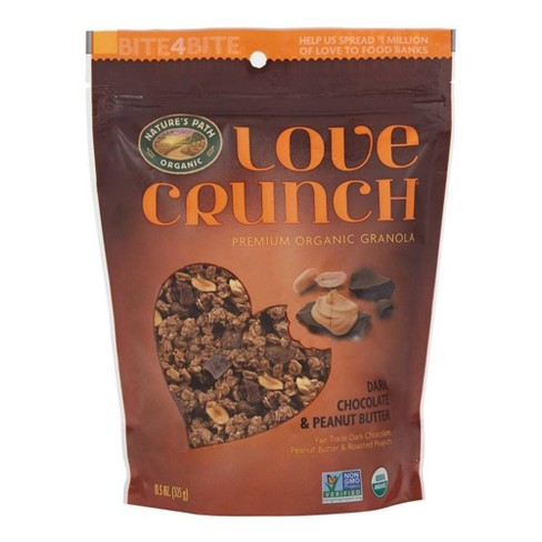 Nature's Path Love Crunch Dark Chocolate and Peanut Butter - 11.5oz - image 1 of 4