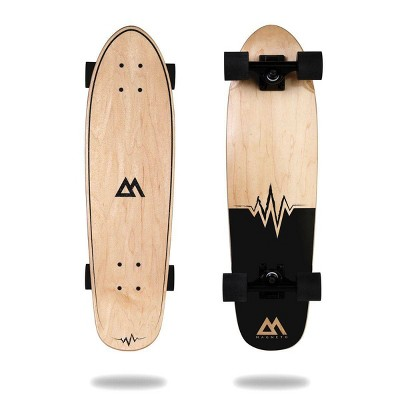 """Magneto Boards 27.5"""" Mini Cruiser Skateboard - Heart Beat"""