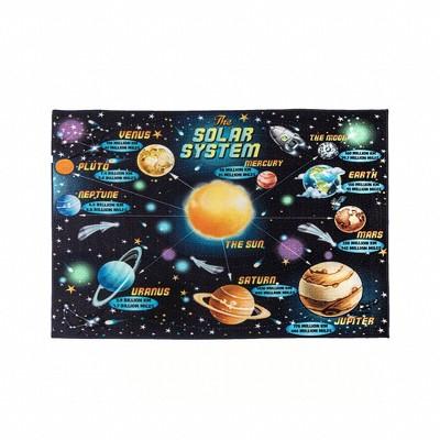 5'x7' Solar System Area Rug - Smithsonian