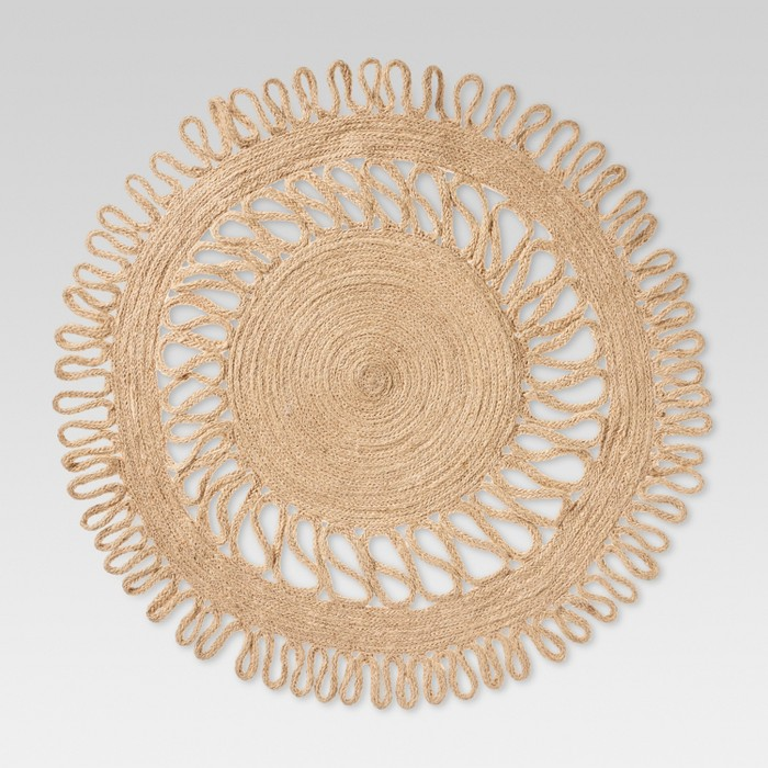 Natural Kitchen Textiles Decorative Charger - Threshold™ - image 1 of 3