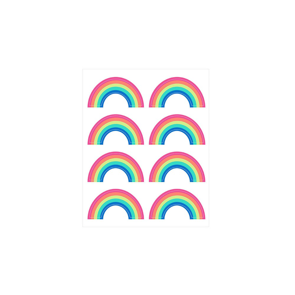 Image of 12sheets 96ct Rainbows Stickers - Spritz