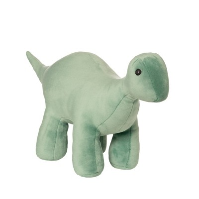 "Manhattan Toy Stomper Velveteen Brontosaurus Dinosaur Stuffed Animal, 7"""