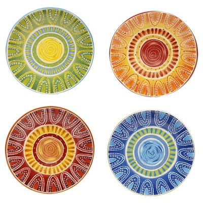 Certified International Tapas Dinner Plate Set of 4 (11.25 )