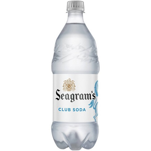 Seagrams Club Soda - 1 L Bottle - image 1 of 3