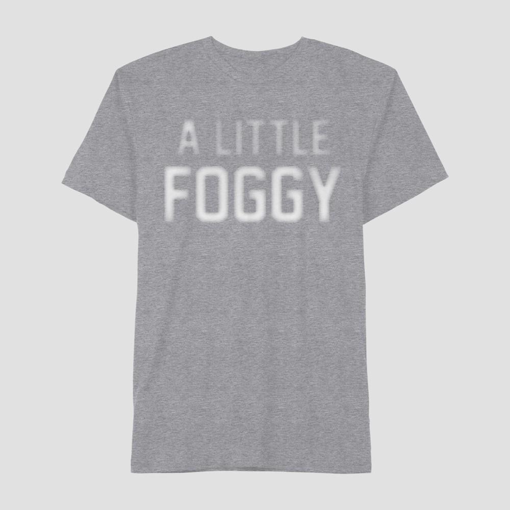 Men's Short Sleeve A Little Foggy Graphic T-Shirt - Awake Heather Gray L