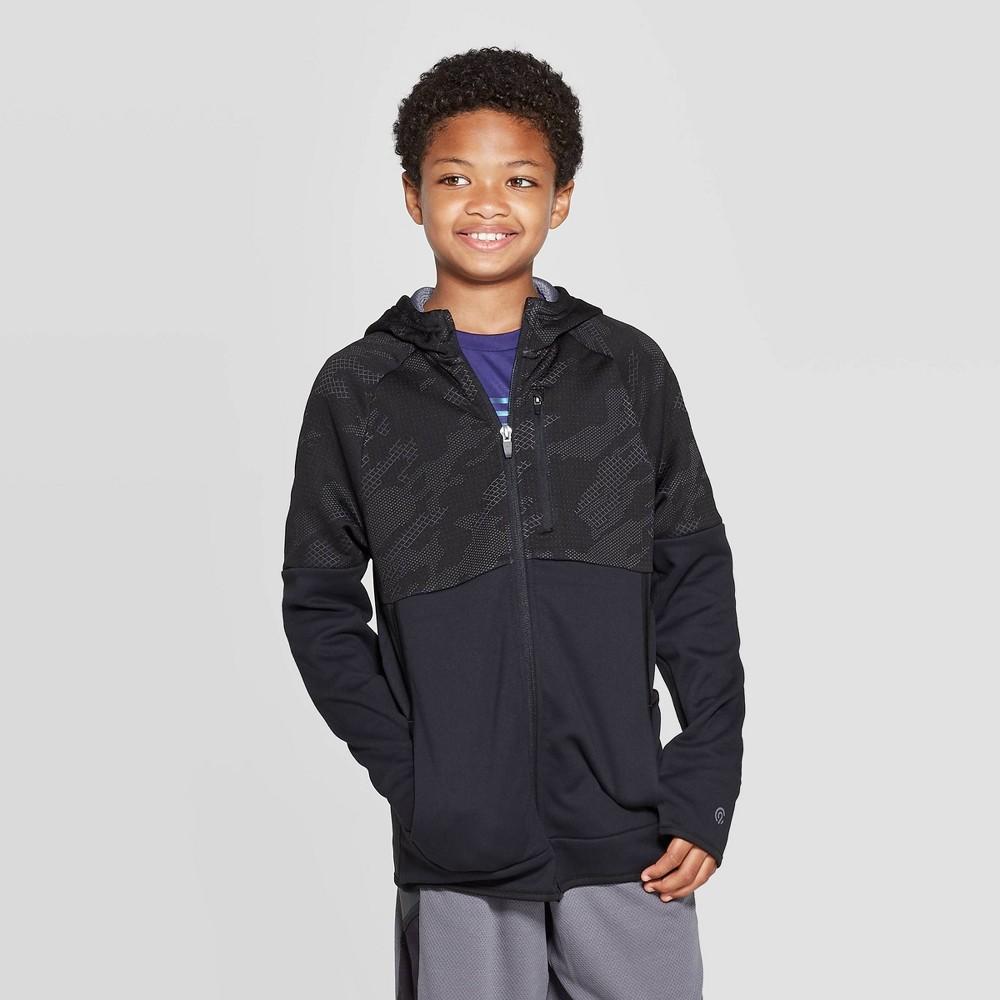Boys' Premium Tech Fleece Full Zip Hoodie - C9 Champion Black S, Boy's, Size: Small thumbnail