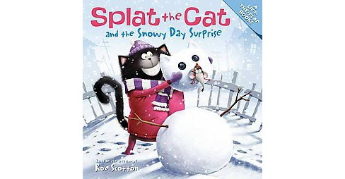 Splat the Cat and the Snowy Day Surprise ( Splat the Cat) (Paperback) - image 1 of 1