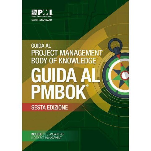 Guida Al Project Management Body Of Knowledge Guida Al PMBOK - 6th Edition (Paperback) - image 1 of 1