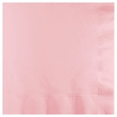 50ct Classic Pink Disposable Napkins