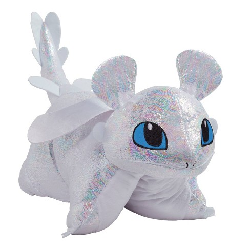 Universal How To Train Your Dragon Light Fury Pillow - Pillow Pets - image 1 of 4