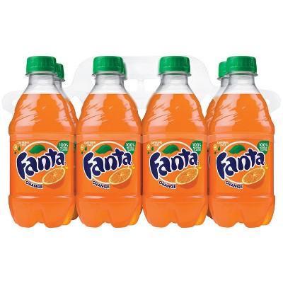 Fanta Orange Soda - 8pk/12 fl oz Bottles