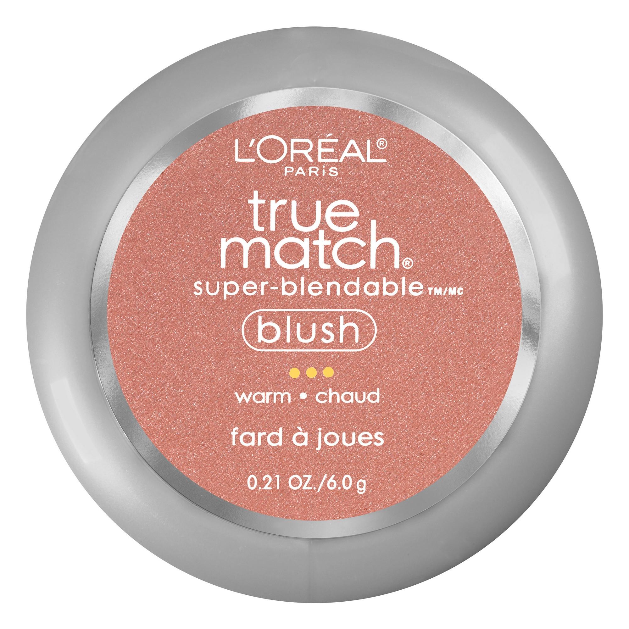 L'Oreal Paris True Match Blush W5-6 Subtle Sable .21oz, Subtle Sable W5-6