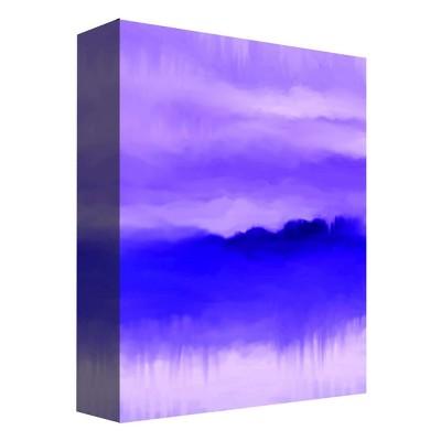 "11"" x 14"" Misty Purple Decorative Wall Art - PTM Images"