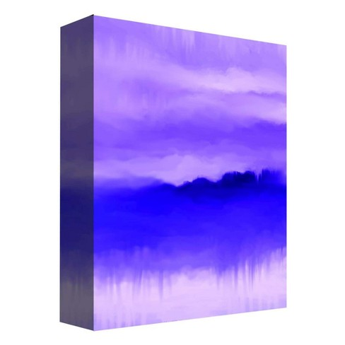 "Misty Purple Decorative Canvas Wall Art 11""x14"" - PTM Images - image 1 of 1"