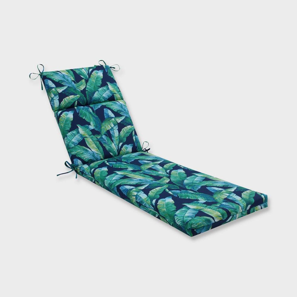 Hanalai Lagoon Chaise Lounge Outdoor Cushion Blue - Pillow Perfect