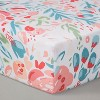 Trend Lab 3pc Crib Bedding Set - Painterly Floral - image 3 of 4