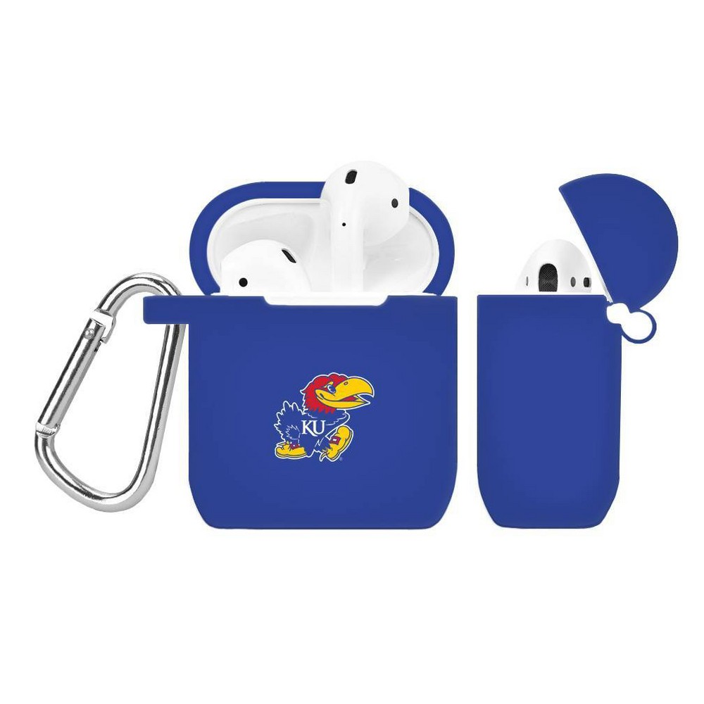 Ncaa Kansas Jayhawks Silicone Cover For Apple Airpod Battery Case