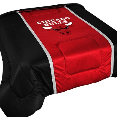 NBA Chicago Bulls Comforter Sidelines Basketball Bedding