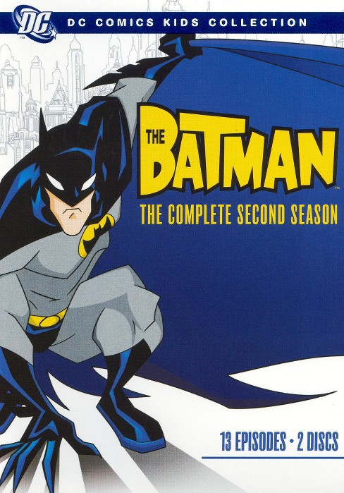 The Batman: The Complete Second Season (2 Discs) (DC Comics Kids Collection) (dvd_video) - image 1 of 1