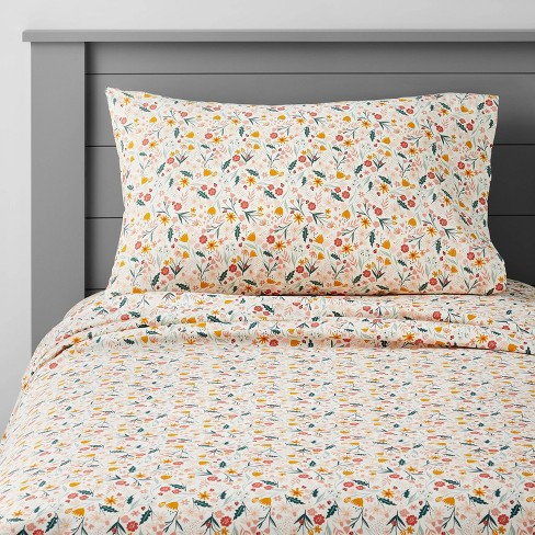 In the Garden Cotton Sheet Set - Pillowfort™ - image 1 of 4