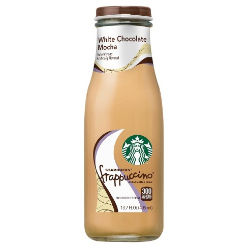 Starbucks Frappuccino White Chocolate Mocha 13 7 Fl Oz Glass Bottle