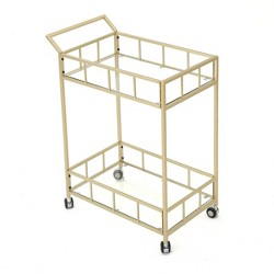 Falon Modern Glam Bar Cart - Christopher Knight Home