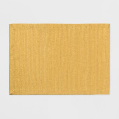19 x14  Placemat Sun Eclipse Yellow - Threshold™