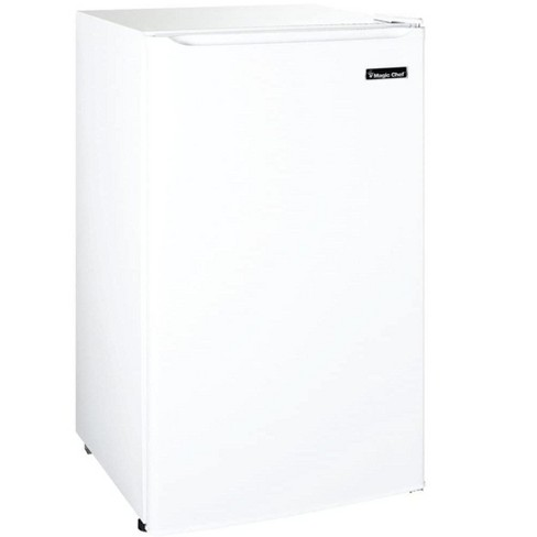 Magic Chef MCBR350W2 3.5 Cubic Feet Compact Mini Refrigerator & Freezer with Adjustable Temperature Control, White - image 1 of 4