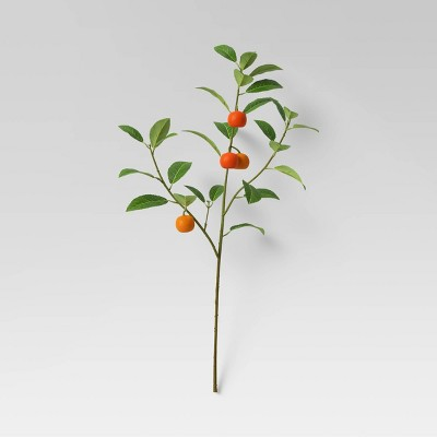 """28"""" Artificial Citrus Plant Stem with Leaves - Threshold™"""