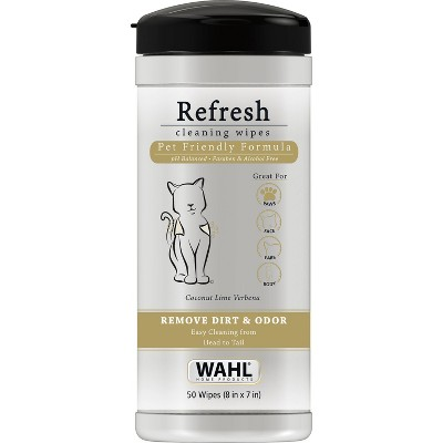 Wahl Cat Cleaning Wipes - 50ct