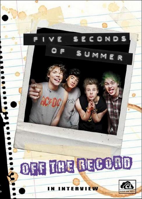 5 seconds of summer:Off the record (DVD) - image 1 of 1