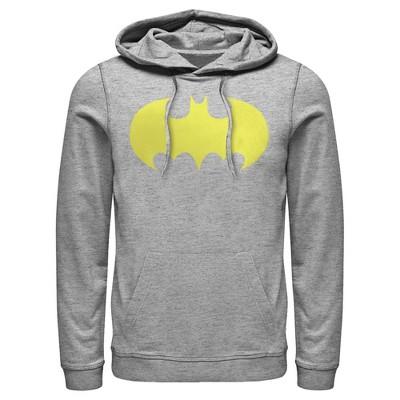 Men's Batman Logo Classic Wing Pull Over Hoodie
