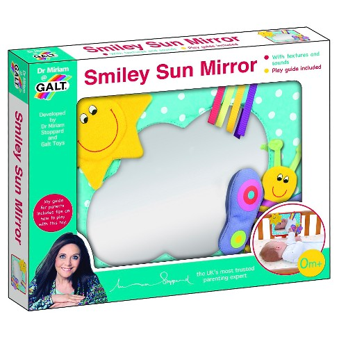Galt Smiley Sun Baby Mirror - image 1 of 1
